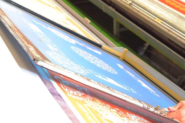 横浜スカーフ 手捺染(てなっせん)1