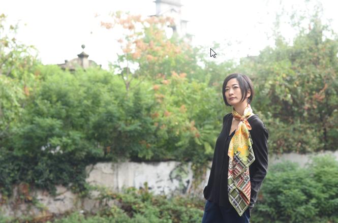 ドットワイ秋冬新作華やかなりしロンドン モデル写真