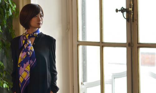 日本製シルクスカーフブランド ドットワイのシルク100%スカーフ