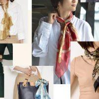 シルクスカーフ 日本製