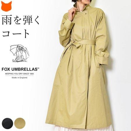 フォックスアンブレラ Fox umbrellas ロングトレンチコート レディース