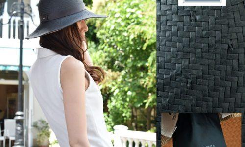 GI'n'GI(ジンジ)麦わら帽子モデル画像