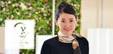 Vol.8 広川恵さん「自分スタイルを軸にエレガンスを極める MY AUDREY×.Yスカーフ」