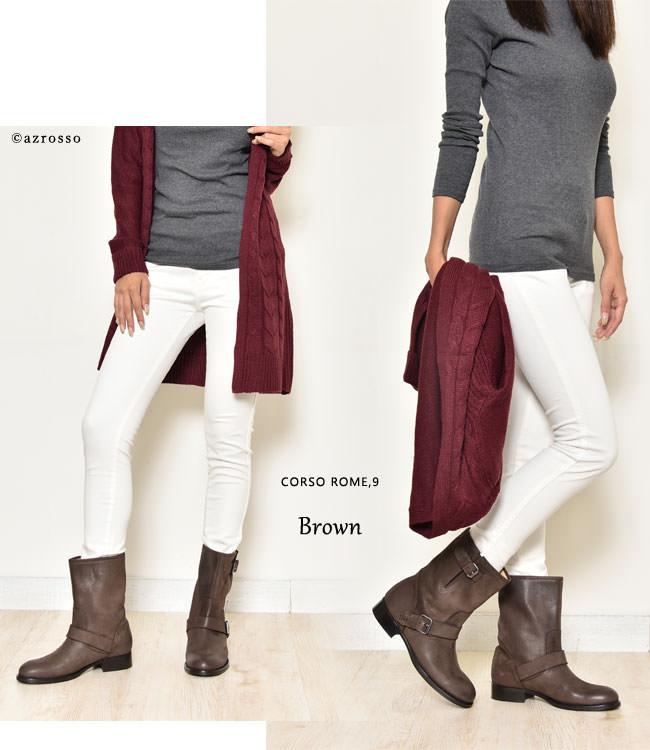 商品画像11 モデル写真:ブラウン。茶色
