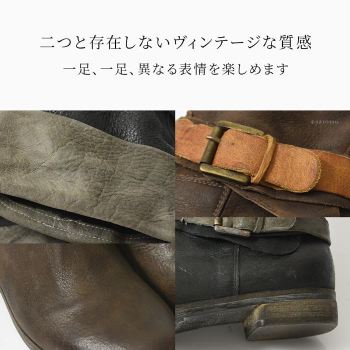 ブーツを丸洗いする・・・・この大胆なウォッシュ加工により、偶然に生まれるシワやキズ、ヨレ、錆、その全てがHANGARのデザイン。二つとない ビンテージ感を生みだします。