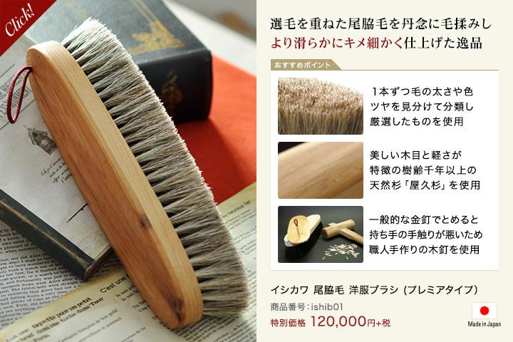 イシカワブラシ(石川ブラシ)12万円タイプ