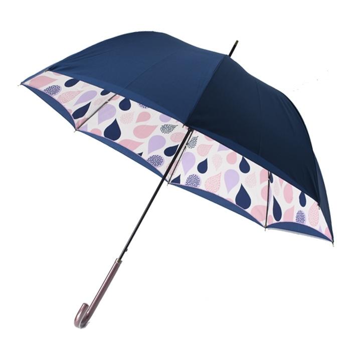 ルビアレイン二重張り雨傘 晴雨兼用