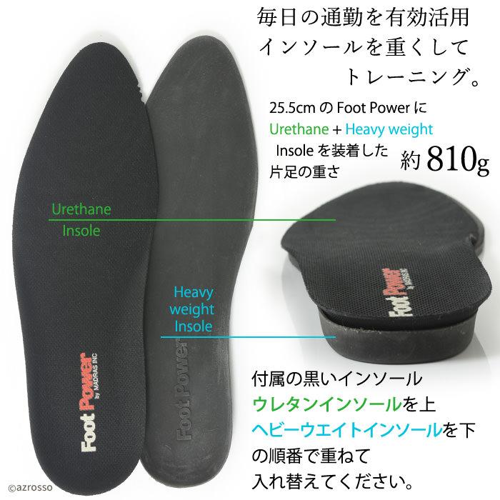 マドラス madras Foot Power フットパワー 本革 インソール2