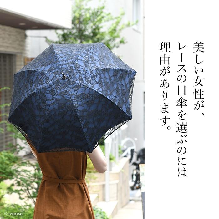 マラガバリアブランドの刺繍レース日傘を差している白いワンピースの女性