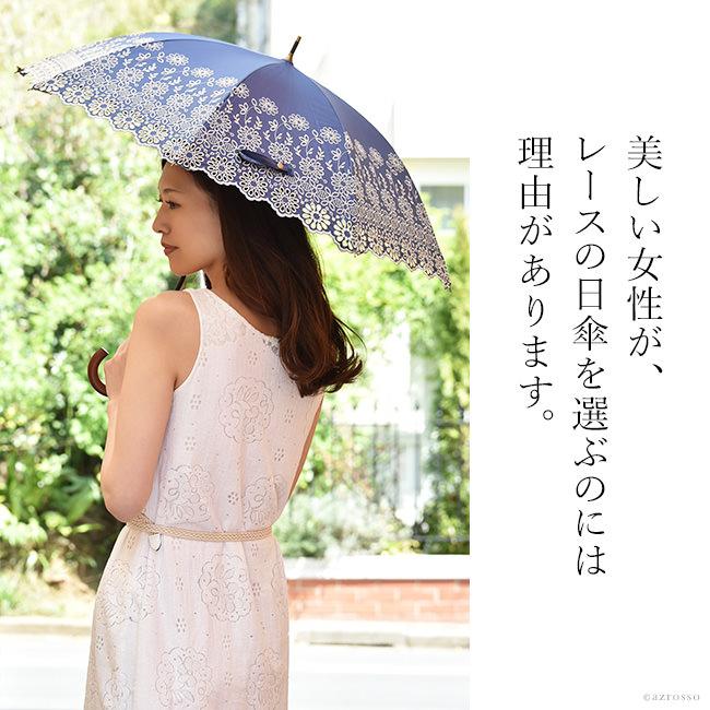 優美な日傘ブランドMalagavaria(マラガバリア)の花柄×レース刺繍が美しい日傘「アラビックレース」