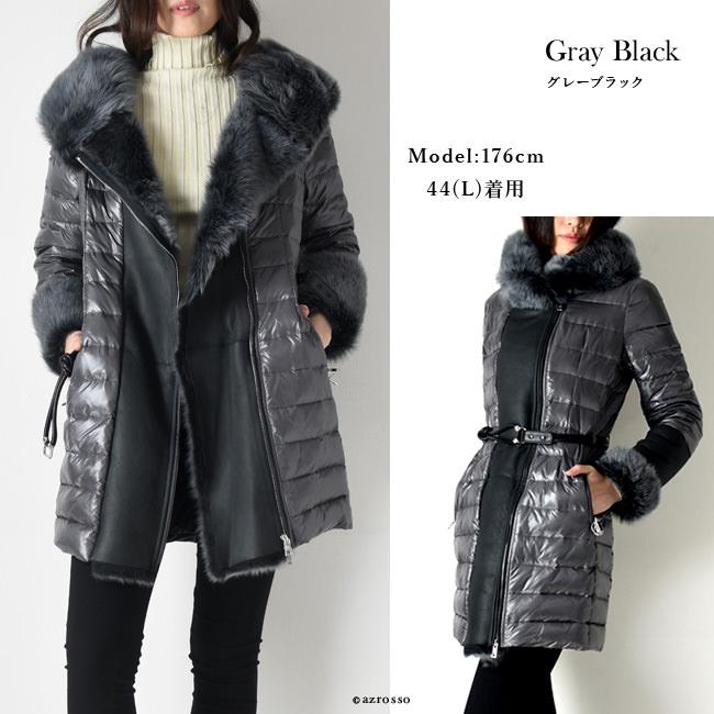 モデル写真 ブラックグレー