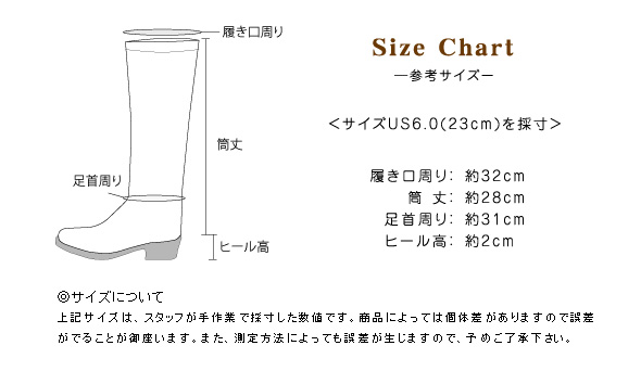 サイズの詳細