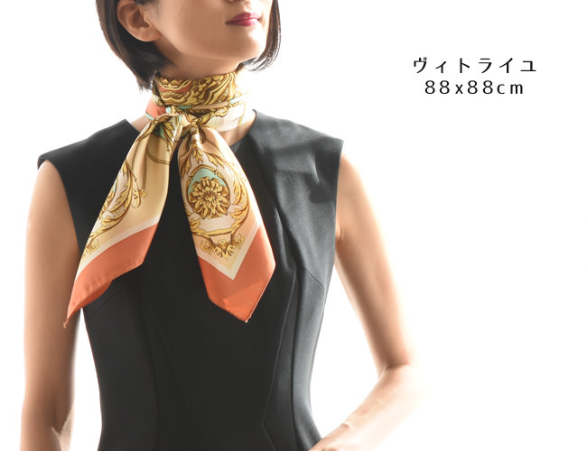 横浜スカーフ:ヴィトライユ 88×88cmのページへ
