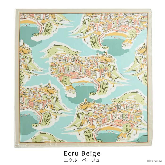 .Y(ドットワイ) アンコーナ 88×88 シルクツイル 横浜スカーフ 正方形 シルク100%の大判スカーフ ブランド 母の日 女性 誕生日プレゼントに コーラルオレンジ