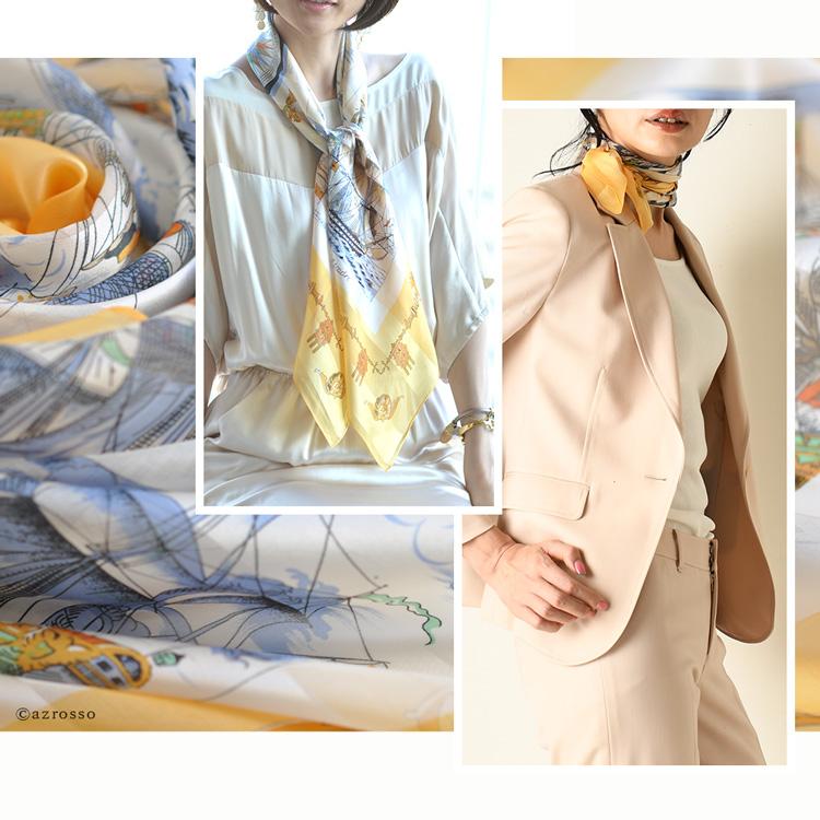 横浜スカーフ コレクション ホープイエロー
