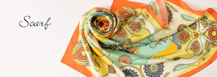 おすすめホワイトデープレゼントその2:シルクのスカーフ