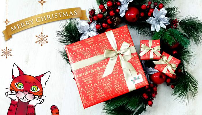 シンフーライフのクリスマスラッピング