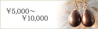 5000円から10000円