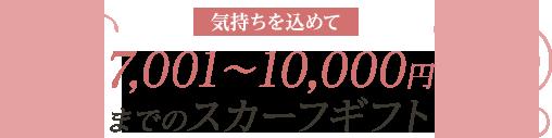 7001~10000円までのギフト
