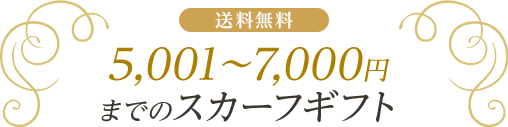 5001~7000円までのギフト