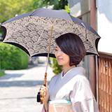 高品質でおしゃれな日本製日傘 画像