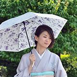 一年中使える晴雨兼用日傘 画像