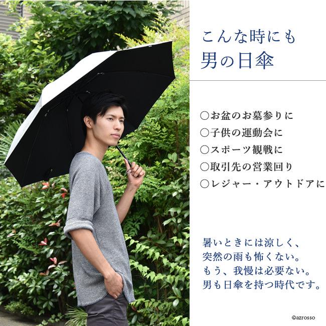 こんな時にも男の日傘